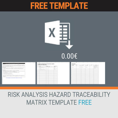 RISK ANALYSIS HAZARD TRACEABILITY MATRIX TEMPLATE FREE