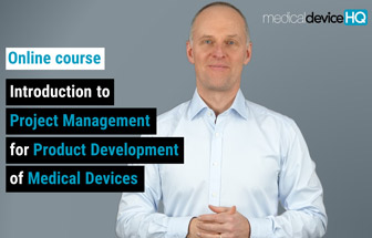 Introduction to project management for product development of medical devices feature image