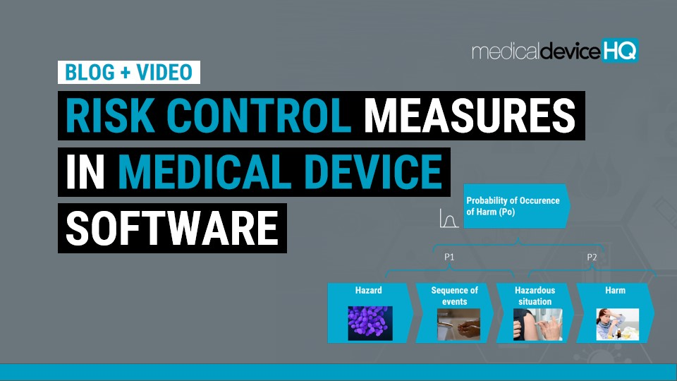 Risk control measures in medical device software