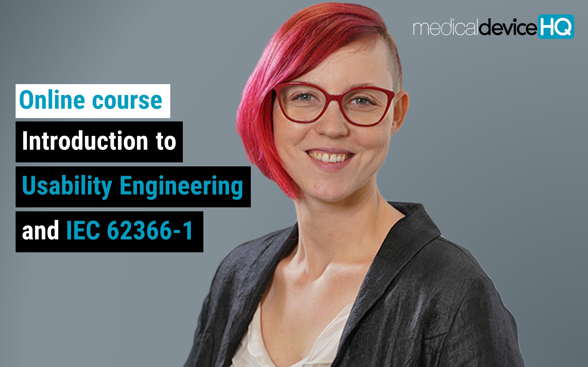 Introduction to Usability Engineering for Medical Devices and IEC 62366-1 online course